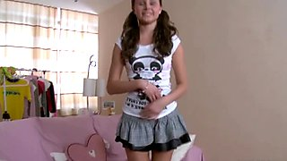 Teenyplayground - First anal audition for super skinny teen