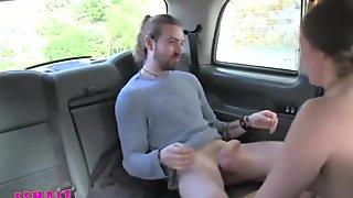 FemaleFakeTaxi Sexy driver gets some student cock- porn6969.com