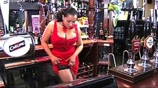 Donna Ambrose AKA Danica Collins - Barmaid