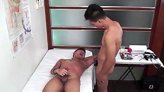 Gagging and bareback treatment