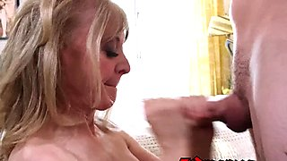 Nina Hartley loves to have fun with men