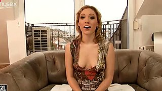 Blue Angel and Lily LaBeau are trying lesbian sex for the first time