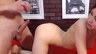 Perverted Couple Wild Fucking With Cumshot