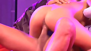 public threesome pornstage orgy