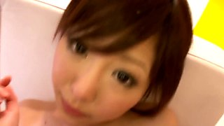 Nippon teen girlfriend toyed and railed by bf