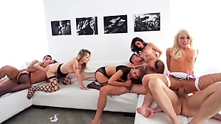 Great orgy with gorgeous girls. 1.