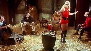JUMPING JACK FLASH - vintage 60's blonde strip dance tease