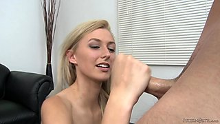 Stunning Alexa Grace gives a helping hand