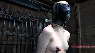 Sexy toy torturing for sexy angel