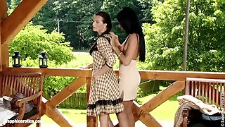 Hot Lesbians Lick Each Other On Sapphic Erotica - Klara And Ashley