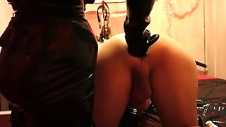 Unknown German Mistress - Slave Anal Training
