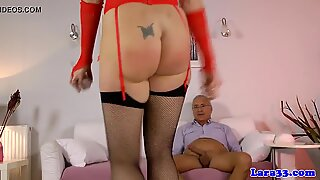 Assfucked classy mature anal creampied