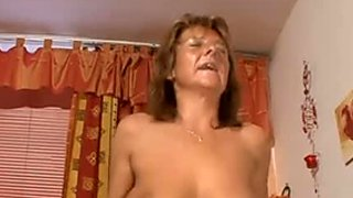 Old and insatiable busty hoe gets doggy invaded hard