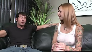Pretending To Be The Boss To Get Some Pussy