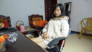 chinese footjob