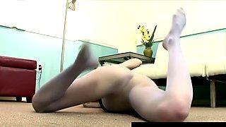 FetishNetwork Kira voyeur nylon upskirt