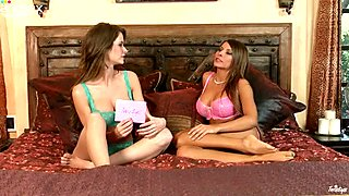 Madison Ivy and her lesbian friend are having fun together