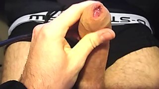 Jerking with ALLOT of Precum