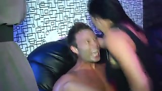 Eurosex partysluts pounded by strippers