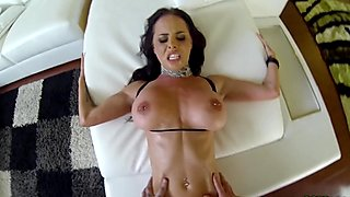 Brandy Aniston sucking big cock POV style
