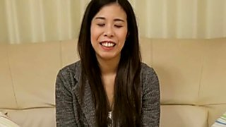 Horny Japanese Bitch on Casting Couch - Part 1