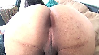 Amateur casting tgirl jerks and spreads booty