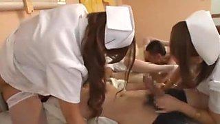 Exotic Japanese girl Nene Azami, Yuri Shinomiya, Mana Izumi in Amazing Doggy Style, Lingerie JAV video