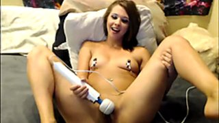 Naughty Teen Fucked Herself With Her Sextoy