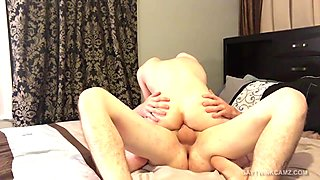 Amateurs Ryan and Austin Fuck On Webcam