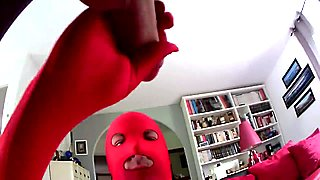 double facial en zentai