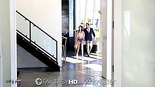 FantasyHD - Sexy little babysitter Ariana Marie fucked