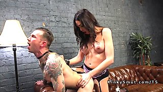 Tranny anal bangs private detective