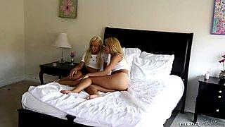Katerina Kay and Carmen Caliente at Sextape Lesbia