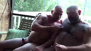 Very hot bears bareback 3