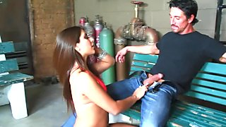 Anal creampie for the pretty Jynx Maze.mp4