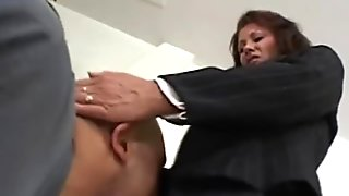White MILF Fucks Black Cock mature interracial