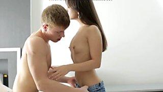 Sexy in denim scene 2
