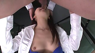 Horny Japanese girl Ena Sakura in Amazing couple, blowjob JAV video