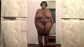 My favorite black BBW cum tribute
