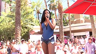 Christina Milian at Flamingo Hotel Go Pool, Las Vegas