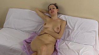 Lelu Love-FemDom Cuckold Closeup Creampie Licking