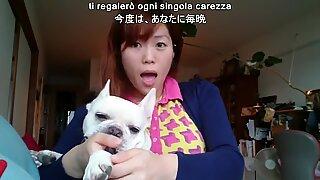 Masako Macaron Escort Japan-Italia canta come troia
