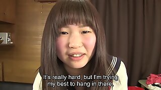 Subtitles Japanese schoolgirl pee desperation HD
