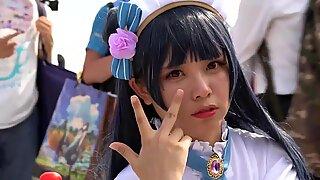 Maid cosplay 004