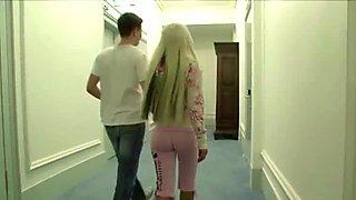 German Pornstar Fuck Young Fan Boy after Show in Hotel