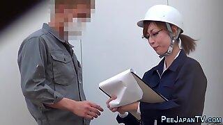 Asian sluts secretly filmed peeing