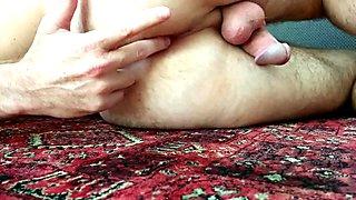 Fingering bubble butt