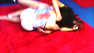 Ebony Hose Wrestling Mocha vs Tye .mov